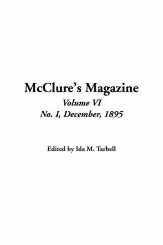 Mcclure's Magazine, No. I, December, 1895