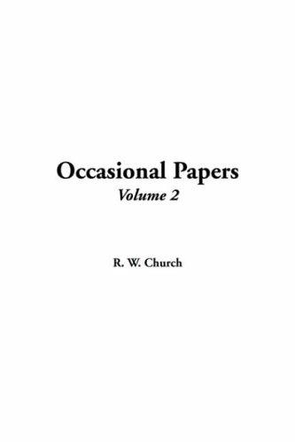 Download Occasional Papers