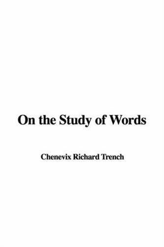 Download On The Study Of Words