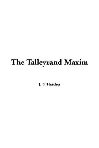 Download The Talleyrand Maxim