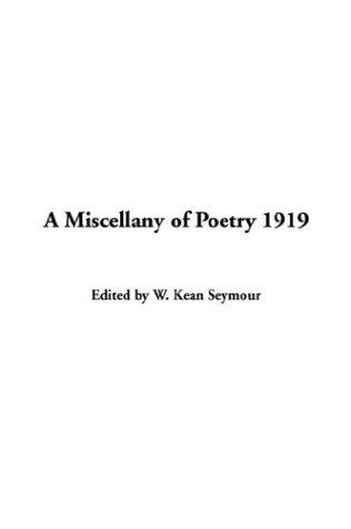 A Miscellany Of Poetry 1919