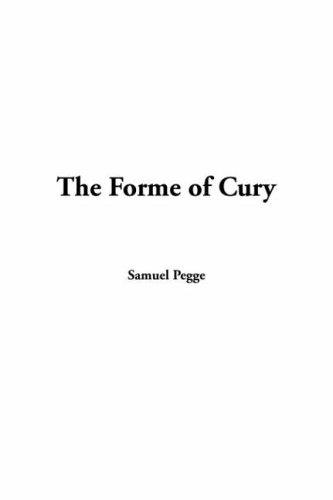Download The Forme Of Cury