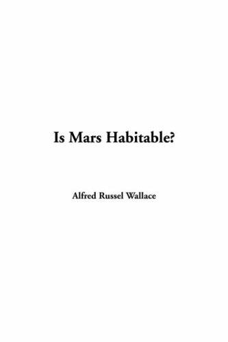Download Is Mars Habitable?