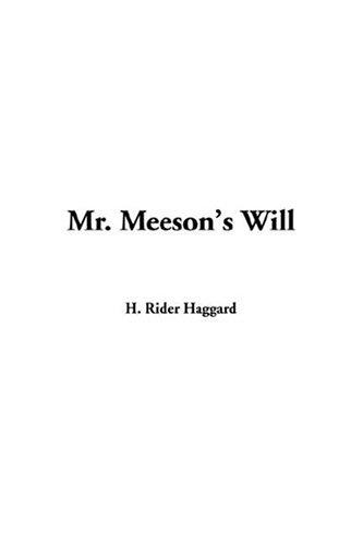 Download Mr. Meeson's Will