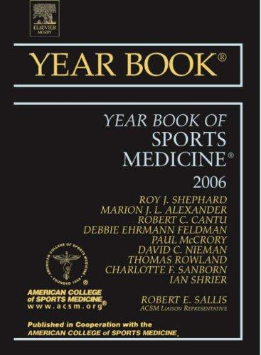 Download Year Book of Sports Medicine (Year Books)