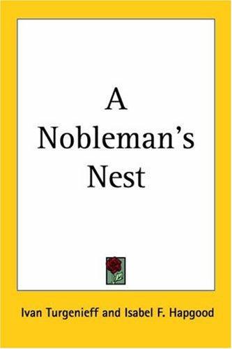 Download A Nobleman's Nest