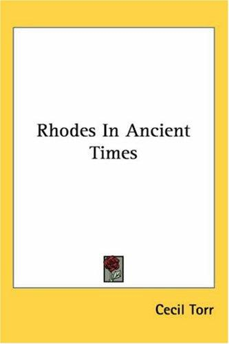 Download Rhodes in Ancient Times