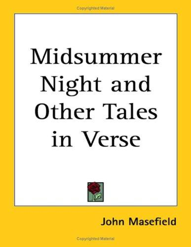 Download Midsummer Night And Other Tales in Verse