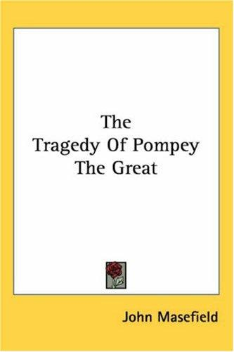 Download The Tragedy of Pompey the Great