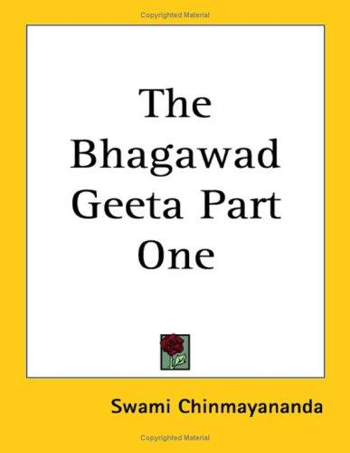 The Bhagawad Geeta