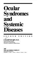 Download Ocular syndromes and systemic diseases