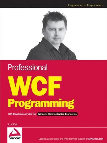 Professional WCF Programming