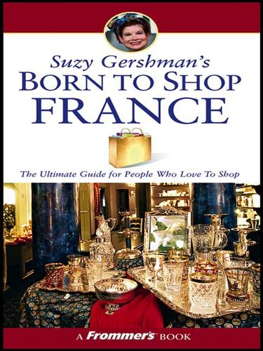 Suzy Gershman's Born to Shop France