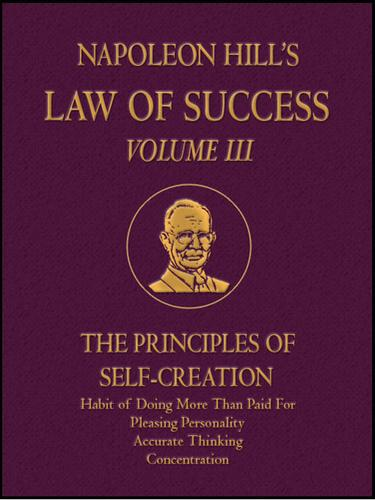 Law of Success Volume III
