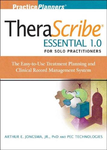 Download TheraScribe Essential 1.0 for Solo Practitioners
