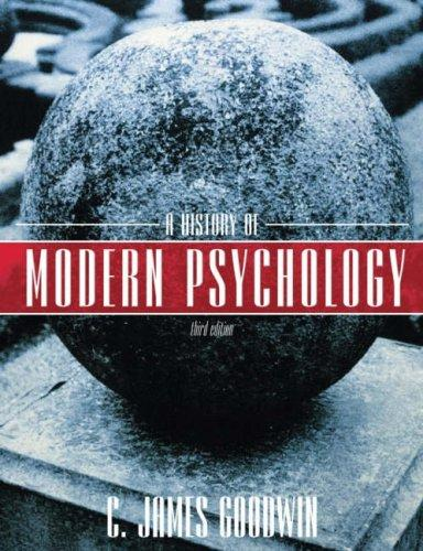 Download A History of Modern Psychology