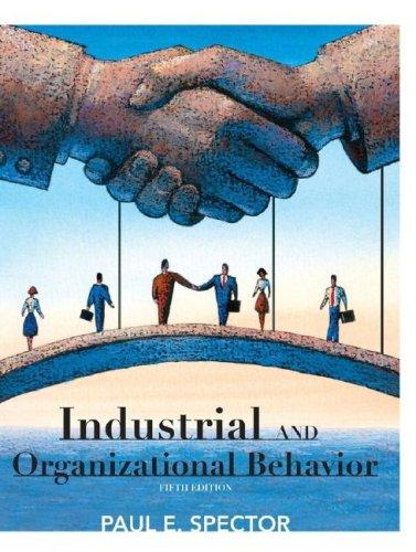 Download Industrial and Organizational Psychology