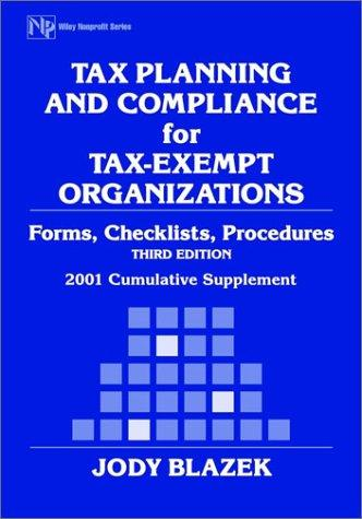Download Tax Planning and Compliance for Tax-Exempt Organizations