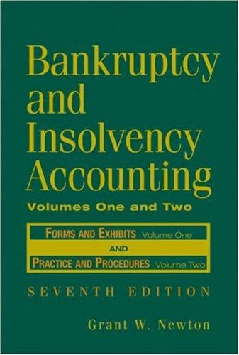 Bankruptcy and Insolvency Accounting