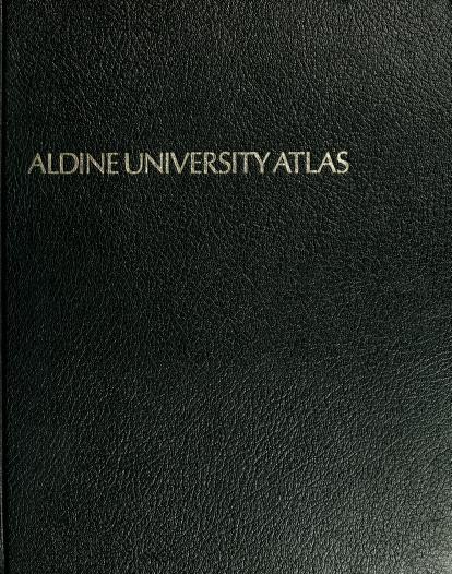 Aldine university atlas by George Philip & Son