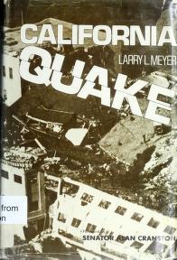 Cover of: California quake | Larry L. Meyer