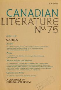 Cover of: Canadian literature | University of British Columbia
