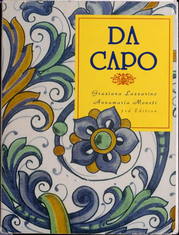 Da capo by Graziana Lazzarino