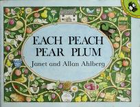 Cover of: Each peach pear plum | Janet Ahlberg