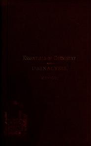Cover of: Essentials of med. chemistry and urinalysis | Egbert Torenbeek