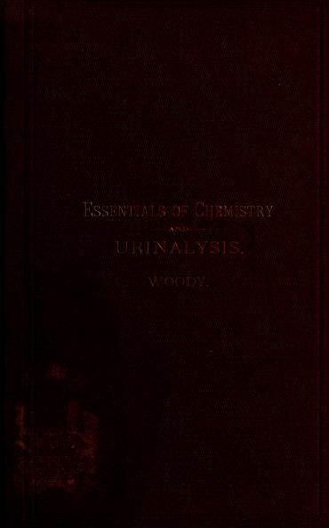 Essentials of med. chemistry and urinalysis by Egbert Torenbeek