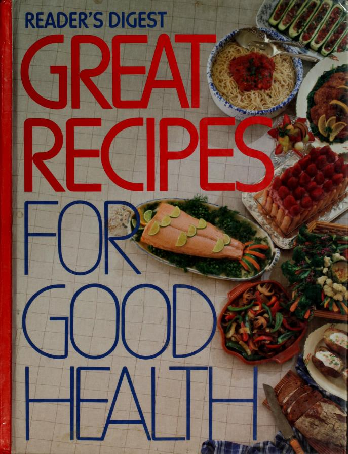 Reader's Digest Great Recipes for Good Health by