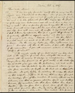 [Letter to] Dear sister Anna by William Lloyd Garrison