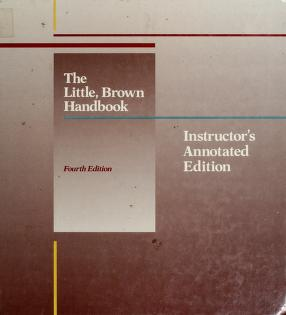 Cover of: The Little, Brown handbook by H. Ramsey Fowler