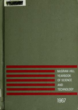 Cover of: McGraw-Hill yearbook of science and technology |