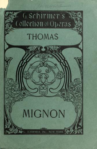 Cover of: Mignon | Ambroise Thomas
