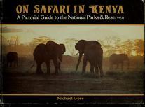 Cover of: On safari in Kenya | M. E. J. Gore