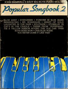 Cover of: Popular songbook |