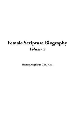 Female Scripture Biography