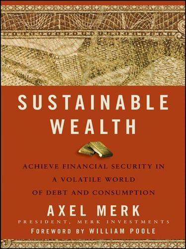 Sustainable wealth by Axel Merk
