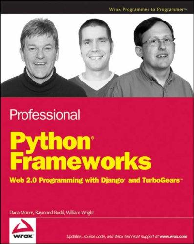 Professional Python Frameworks by William Wright