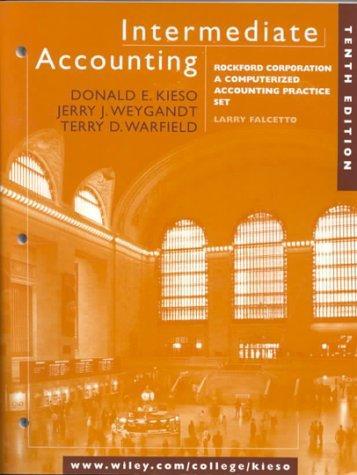 Intermediate Accounting: Rockford Corporation